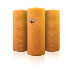 Pack de 3 Super Totems Rolling Candles from The 100% Natural Rolling Candles Shop by DaWanda.com