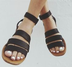 Cabin and Cover Greek sandals