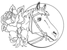horse coloring pages for girls free coloring pages - Horse Coloring Pages Printable