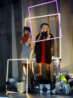 H&M Window Displays