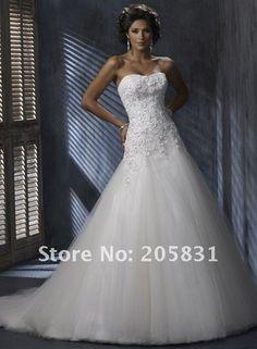 Brautkleid Brautmode Hochzeit weiß/schwarz creme Ivory Schleppe Strass Traum NEU