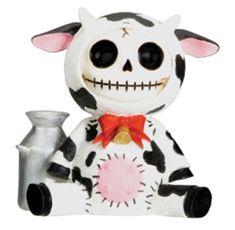 Amazon.com: Furry Bones Cow Collectible Figurine Statue Sculpture Animal Figure: Home & Kitchen