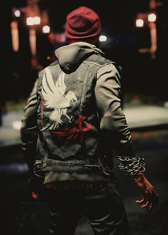 Time to Party with the Nintendo Wii Character Inspiration, Character Art, Character Design, Gaming Wallpapers, Animes Wallpapers, Infamous: Second Son, Infamous 2, Infamous Video Game, Delsin Rowe
