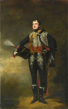 Lieutenant John James Douglas (later Captain Sir John James Scott-Douglas, Bt) (1792–1836), 15th (or The King's) Regiment of (Light) Dragoons (Hussars), c.1819