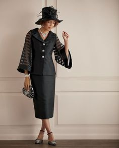 Alana Skirt Suit and Hat