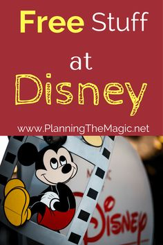 Disney vacations can really get so expensive. I bring you Disney free stuff, 34 actionable and helpful freebies at Disney World. Let's start saving money.
