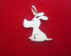 Pingente de Cachorro Em Prata - Peça o seu pelo Whats (21) 97266-8643  - #pingentedecachorro #cachorrofofo