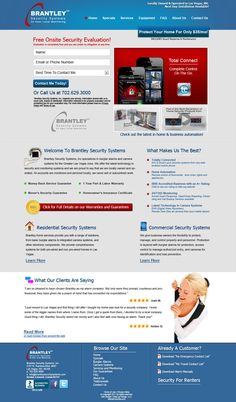 Brantley Security Systems Website