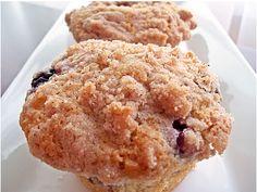 Blueberry Struesel Muffins