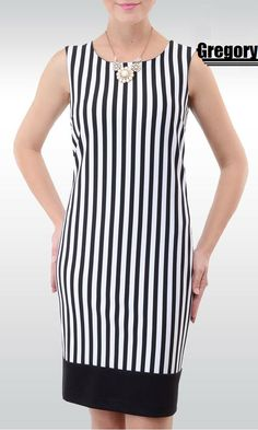 Striped dress - Gregory.