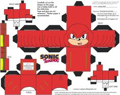 VG7: Knuckles Cubee by TheFlyingDachshund on DeviantArt