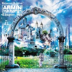 Armin Van Buuren uses heavy graphic image manipulation also. Seems to be an underlying trend amongst albums.