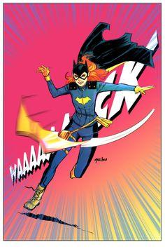 Batgirl in Action - Daniel Mallzhen                                                                                                                                                                                 More