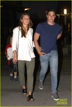 Melissa Benoist Goes On Date Night with Hubby Blake Jenner