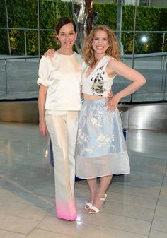 Pin for Later: The Hottest Date Last Night Was a Fashion Designer Anna Chlumsky and Cynthia Rowley