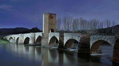 El puente medieval de Frías.