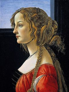 Sandro Botticelli - Portrait of a young woman, 1480 - Berlin, SM | Flickr - Photo Sharing!