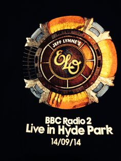 A memento from seeing Jeff Lynne's ELO at Hyde Park