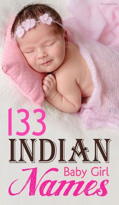 133 Most Popular And Unique Indian Baby Girl Names : India is a wonderful country with rich culture & diversity which is seen in Indian girl names. If you are on hunt for one then try this long list of names! Indian Girls Name List, Unique Indian Baby Names, Hindu Girl Baby Names, Baby Girl Names List, List Of Girls Names, Trendy Baby Girl Names, Unique Girl Names, Unisex Baby Names, Cute Baby Names