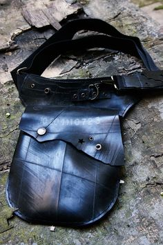 ▲ MARcPOS M inner tube rubber sling/ hip holster bag   ©Yellow Boots Photography