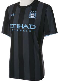 Umbro Man City Euro Away Shirt 2012/2013