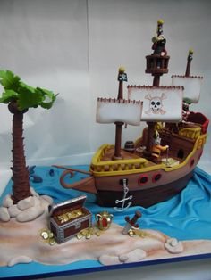 Barco piratas