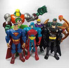Batman Brave and the Bold - Joblot / Bundle X 7 - Action Toy Figure - DC Comics