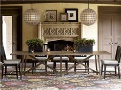 Universal Furniture | Curated | Reunion Dining Table | 572656