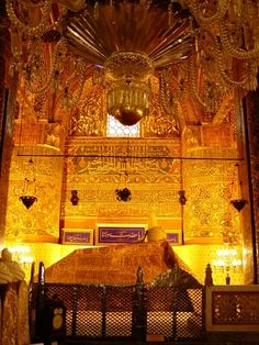 Konya, Turkey - Mevlana Museum (Green Mausoleum)