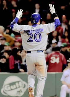 Reppin the 6 Baseball Boys, Baseball Players, Funny Baseball, Mlb Players, Softball, Fantasy Baseball, Josh Donaldson, Mlb Teams, Toronto Blue Jays