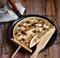 Pair Staub's pre-seasoned, cast-iron pan with all the tools needed to make lightweight, elegant crêpes.