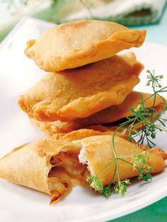 Empanadillas de Cebolla y Mozzarella