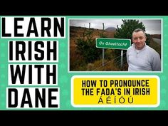 In this Irish language video I will explain how to pronounce and write the fada's in the Irish language, I will give you some new words and phrases and expla. Irish Gaelic Language, Gaelic Irish, English Language, St Patrick's Day Traditions, Irish Proverbs, Old Irish, Irish Culture, Irish American, How To Pronounce