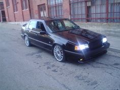 """Volvo 850R...""""Swedish Stealth""""  Had one just like this......"""