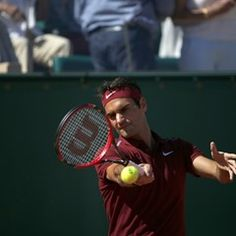 Roger Federer plays at the Monte-Carlo Rolex Masters 2016 (294226)