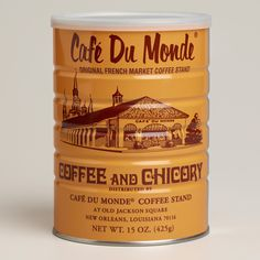"""Cafe Du Monde coffee.  Do you think this classic old coffee brand still sells well in the classic """"coffee can"""" style packaging or should it be changed?"""