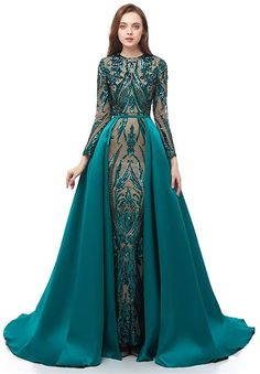 Winter Prom Dresses, Prom Dresses Long With Sleeves, Mermaid Evening Dresses, Prom Party Dresses, Formal Evening Dresses, Formal Prom, Prom Gowns, Evening Gowns With Sleeves, Dress Sleeves
