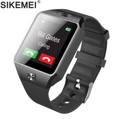 SIKEMEI DZ09 Unisex Smart Bluetooth Watch - Fitness Tracker, Camera, Sleep Monitor Android & iOS Smart Phone Compatible