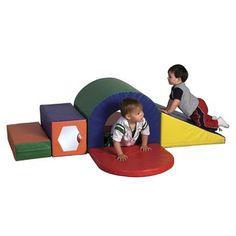 ECR4Kids SoftZone Slide & Crawl Set