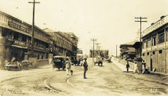 #Philippine_History  ___  Sta Cruz Bridge, circa 1910