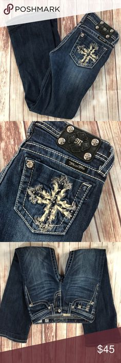 Girl's Miss Me jeans size 10 Great condition  Smoke free home Miss Me Bottoms Jeans