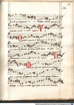 Cantionale, Geistliche Lieder mit Melodien. Münchner Marienklage Tegernsee, 3. Drittel 15. Jh. Cgm 716  Folio 197
