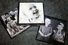Photo Coasters...my next Father's Day gift!