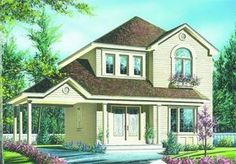 Plan No.142572 House Plans by WestHomePlanners.com