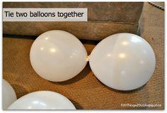 100 Things 2 Do: DIY Balloon Flowers
