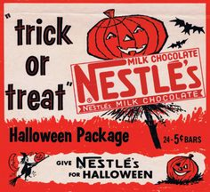 Today we're looking back at 10 of our favourite vintage ads from the Halloween season. Vintage Halloween Images, Retro Halloween, Vintage Halloween Decorations, Halloween Signs, Holidays Halloween, Spooky Halloween, Halloween Queen, Halloween Stuff, Halloween Crafts