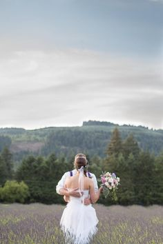 Whimsical Tea Party Styled Shoot at McKenzie River Lavender in Springfield, OR | Oregon Bride Magazine | Photo: Ashley Cook Photography