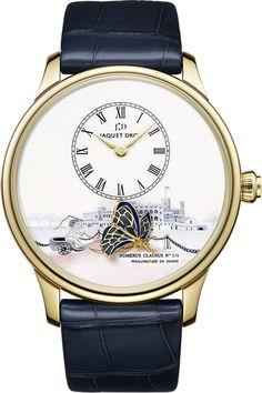 La Cote des Montres : La montre Jaquet Droz The Loving Butterfly pour Only Watch et Jaquet Droz The Loving Butterfly pour son 275e anniversaire