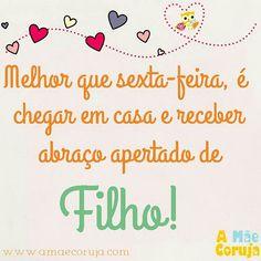 Coisas de mãe!   www.amaecoruja.com