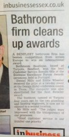 We were really happy to see this small article about us winning the Best Customer Service award at the Business Excellence Awards in Portugal. We would again like to thank our customers who have supported us since the start, without you we would never have even been nominated.   We can't wait to see what the rest of this year holds and to carry on what we do best!
